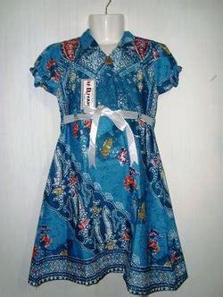 Baju Tidur Wanita Mawar Biru Kerah Sabrinacln Panjang baju anak bakul batik