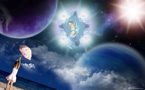 imagenes de jesus y maria en el cielo wallpapers religiosos ni 241 o jes 250 s
