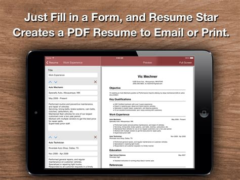 Best Resume Builder App For Iphone Resume Top Resume Designer For The Iphone