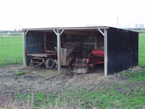 The Farm Shed by File Farm Machinery In A Shed Between Newland And