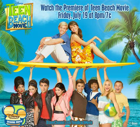 film disney beach disney s teen beach movie premieres july 19 8pm et pt