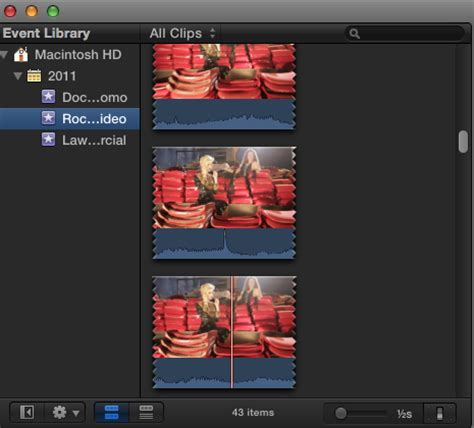 final cut pro zoom out zooming in and out of the final cut pro x event library