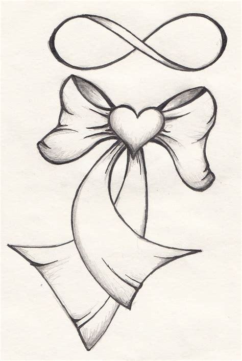 simple bow tattoo designs 30 ribbon designs