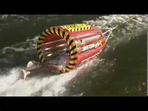 inner tube pulled by boat gyro towable boat tube by sportsstuff youtube