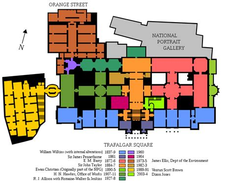 National Gallery Floor Plan | file national gallery 1st floor plan svg wikimedia commons