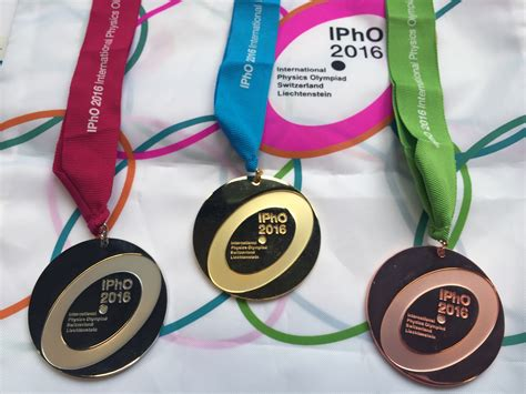 best ipho uzh medals awarded to physics talent at the