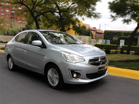 mitsubishi dodge 2015 dodge attitude is a reskinned mitsubishi mirage sold