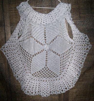 patrones de tejido gratis chaleco tejido en redondo pin by jennifer valladares su on crochet pinterest