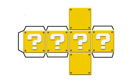 Papercraft Blocks - question block papercraft by hyper235 on deviantart