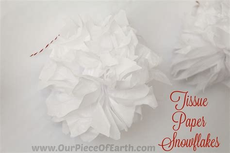 How To Make Tissue Paper Snowflakes - winter tablescape our of earthour of earth