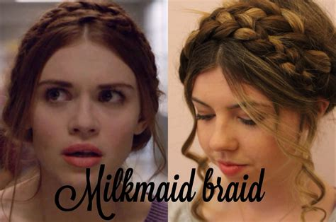 what is lydia martins plait hairstyle called lydia s milkmaid braid hair tutorial youtube