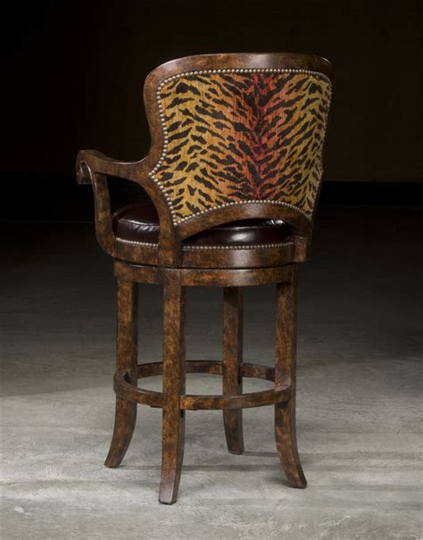 high end bar stool high end furniture tiger bar stool