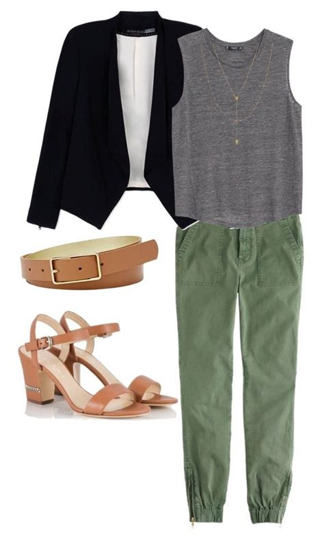 grey blazer polyvore discover and shop the latest in 58 best army green pants images on pinterest green pants