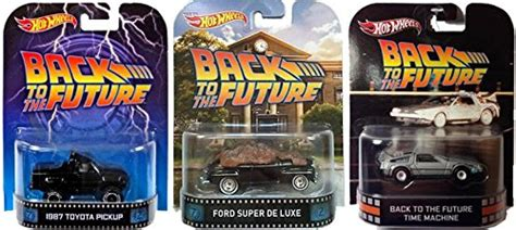 Ford De Luxe Back To The Future Hotwheels Real Riders wheels retro entertainment back to the future