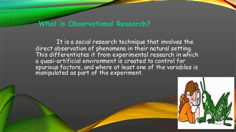 naturalistic pattern definition observational research