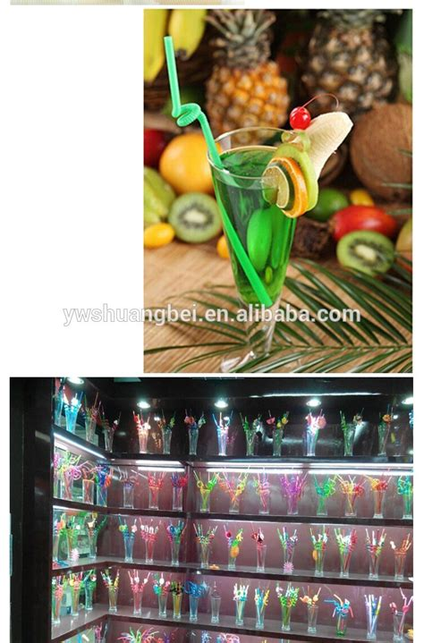 Bar Accessories Gifts Promotional Gifts Disposable 6mm Plastic Straw