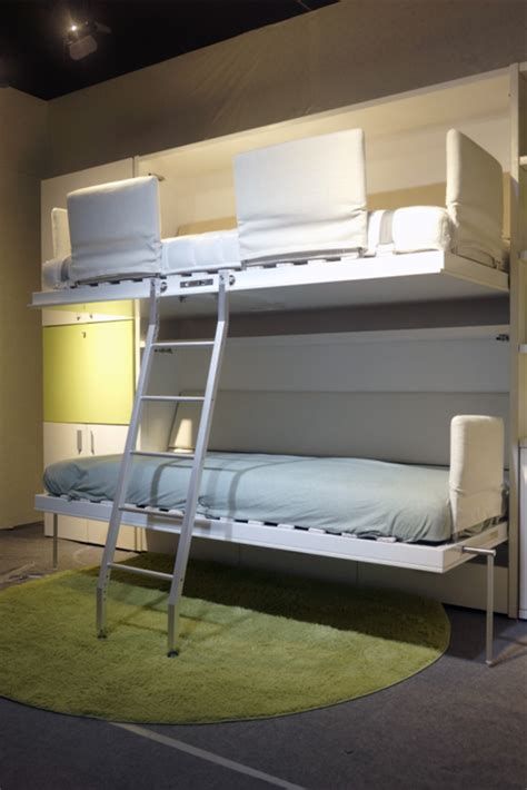 space saving double bed space saving bunk wall bed horizontal double murphy bed