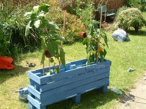 Planter Boxes Made From Pallets by Planter Boxes Made From Wooden Recycled Things