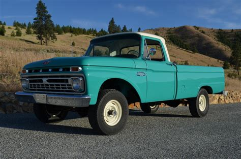 1966 Ford F100 For Sale by 1966 Ford F100 4x4 V8 4 Speed For Sale On Bat Auctions