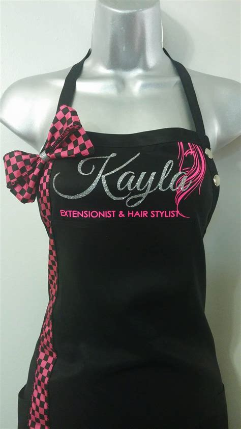 personalized stylist capes and aprons personalized stylist capes and aprons salon cape custom