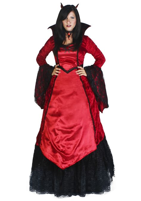 halloween costumes deluxe devil temptress costume