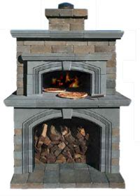 outdoor fireplace with pizza oven kits outdoor wiring