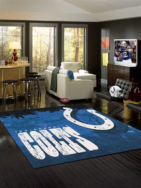 Business Area Rugs 12 Best Colts Quot Fan Caves Quot Images On O