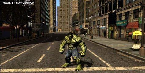 free download games hulk full version incredible hulk usa nintendo wii iso download romulation