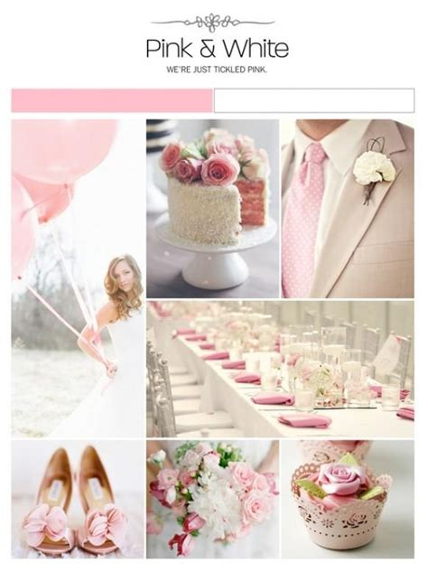 pink and white wedding theme pink and white wedding inspiration 1919828 weddbook