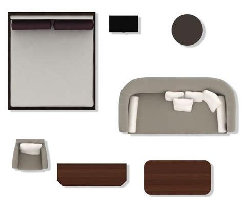 2d furniture psd 2d floorplan furniture 3d model cgtrader