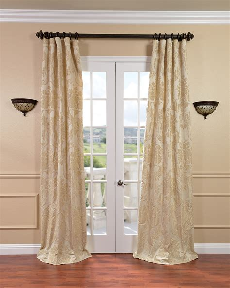 Faux Silk Draperies faux silk curtains overstock shopping stylish drapes