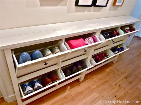 ikea hack shoe cabinet the bespoke ikea hemnes shoe cabinet