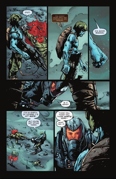 Rogue Trooper Books 1 7 preview rogue trooper 1 by brian ruckley and alberto ponticelli
