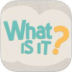 what is what is it the game android apps on google play