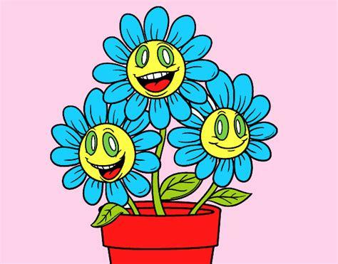 vaso di fiori disegno disegno un vaso di fiori colorato da utente non registrato