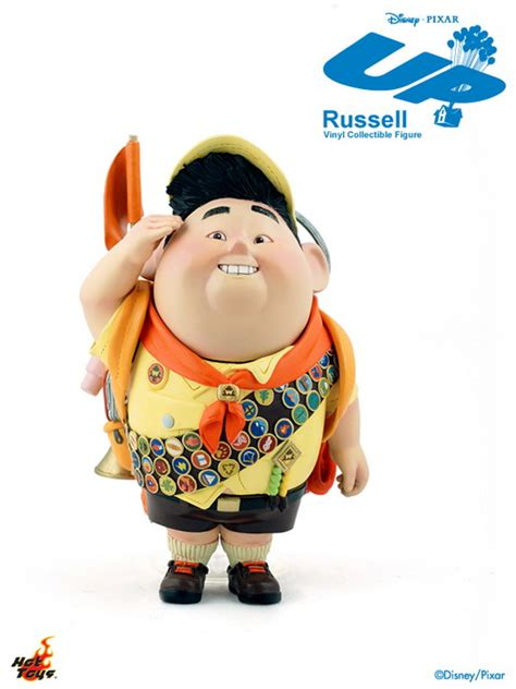 film up characters hot toys mmsv02 pixar s up 5 5 russell vinyl