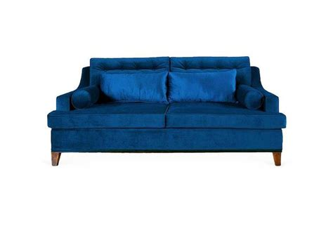 cobalt blue couch bravo 98 quot sofa blue cobalt blue blue velvet sofa and sofas