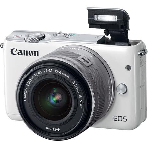Canon Eos M10 Kit 15 45mm Is Stm Putih Kamera Mirrorless купить фотоаппарат со сменной оптикой canon eos m10 kit 15 45mm is stm белый