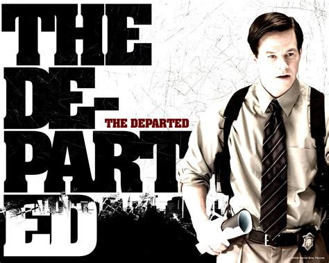 film gangster leonardo dicaprio the departed movies wallpaper 2281613 fanpop