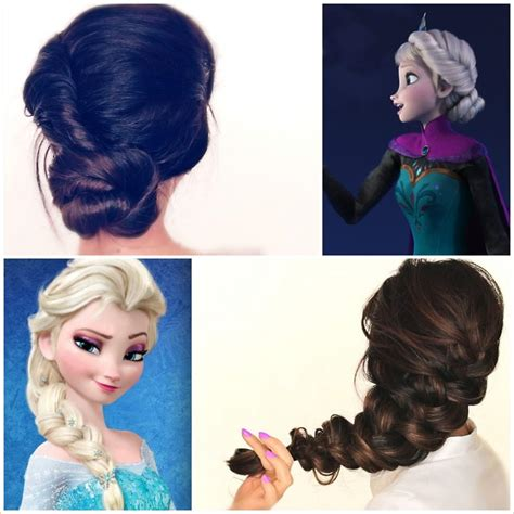 from frozen hairstyle spectacular disney frozen movie inspired hairstyle