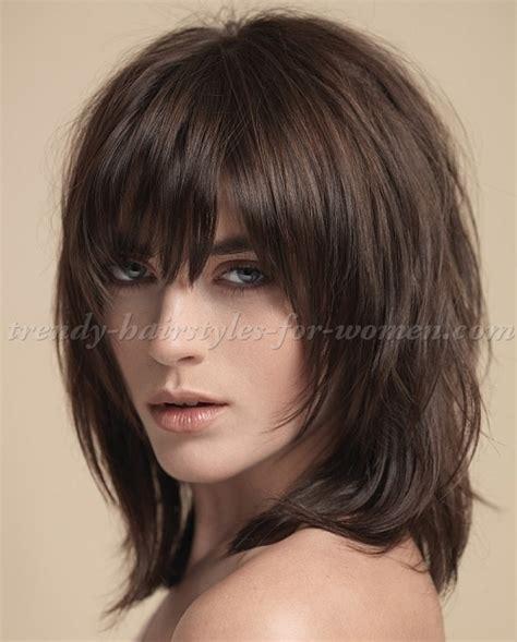 medium length hairstyles for hair layered
