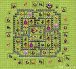 Clash of clans town hall 8 regular base golden rules golden rules