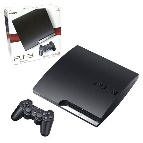 ps3 console 120gb slim 120gb playstation 3 console the gamesmen