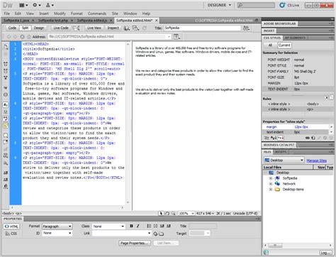 dreamweaver cs5 tutorial open browser window behavior adobe dreamweaver portable cs 5 5 working olalorre s diary