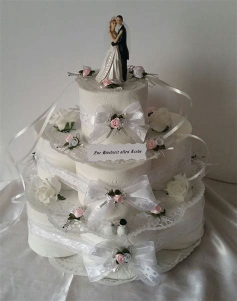 Hochzeitstorte 3 St Ckig by Hochzeitstorte Aus Toilettenpapier Hochzeitstorte Aus
