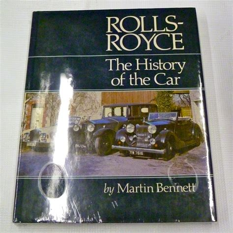 rolls royce car history rolls royce the history of the car by martin