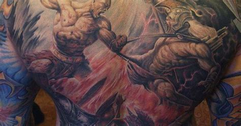tattoo fail kratos roman kuznetsov tattoo kratos tattoos pinterest