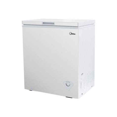 Freezer Box Midea midea 5 0 cu ft chest freezer in white whs185c1 the