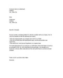 Proof Of Employment Letter Template by 40 Proof Of Employment Letters Verification Forms Sles