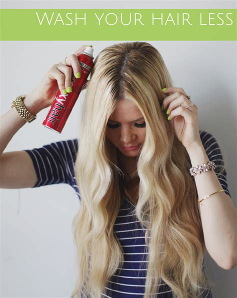 How To Wash Your Hair Less Frequently by Effects Of Using Water On Hair And How To Prevent